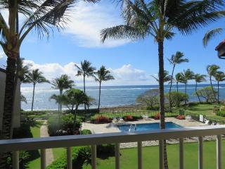 Kapaa Shore Resort #318 Ocean View, W/D, Comp Wifi