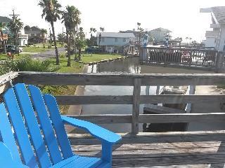 Jamaica Beach Texas Beachhouse on a canal