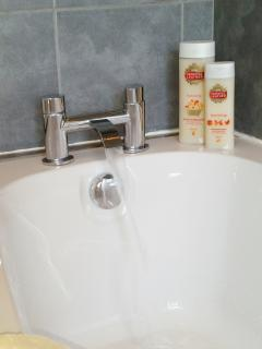 Find time in your holiday for a long relaxing bath
