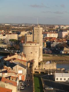 La Rochelle from one of the Sargents (towers)