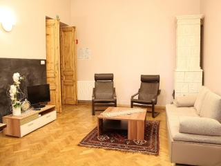 4 bdr Old River Apartment in the city centre, Cracovia