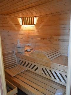 Niveau 3 : la sauna du gîte de Commercy