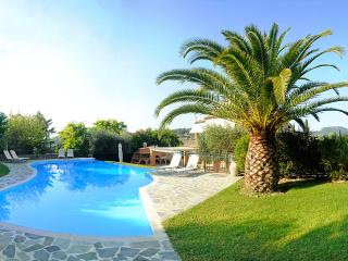 Private villa with large pool in Central Corfu