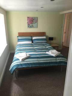 double bed sleeping arrangement