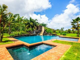 HUGE Tropical 5 Acre Retreat - Sleeps 14 Guests, Kilauea