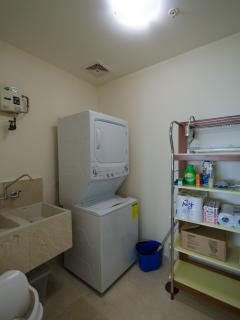 The utility room with washer/dryer.