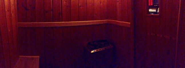 6 person sauna at Chalet3Valleys