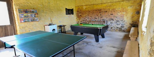 Games room.