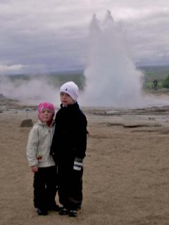Geysir (30 min drive from the housue)