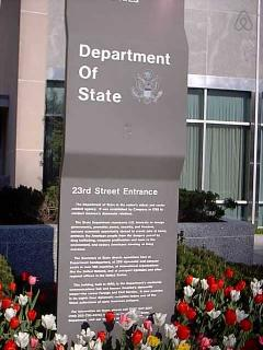 The Department of State -7 Minutes Away