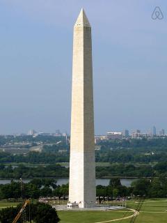 The Washington Monument -10 Minutes Away
