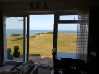 View from inside looking towards the solent
