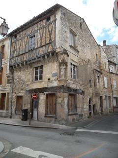 One of many historic buildings in Niort