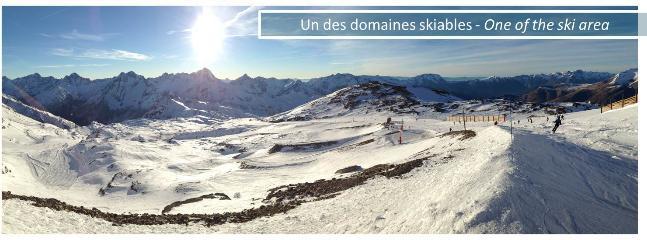 Un des nombreux domaines skiables. Glisse assurée !!