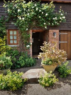 Flora's Barn front door.