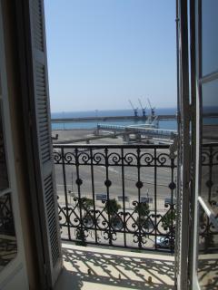 balcon de l'appartement