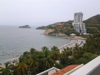 iroka apt balcony with seaview, Santa Marta