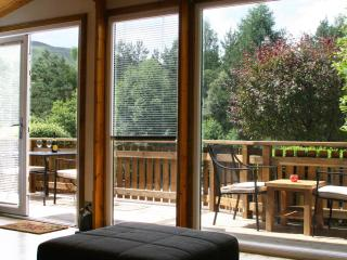 Tail Race Lodge, Blair Atholl. Uninterrupted view