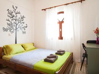 The main bedroom with a large double bed and large closet to put your clothes.