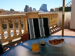 Ferienapartment mit Terrasse am Strand in Calpe