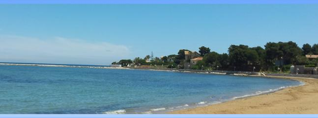 One of the quite beaches in Denia