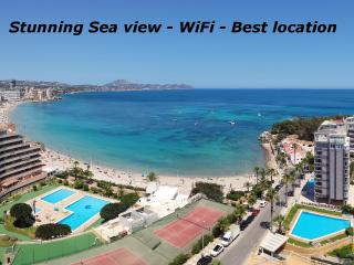 STUNNING SEAVIEW - WIFI - BEST LOCATION, Calpe