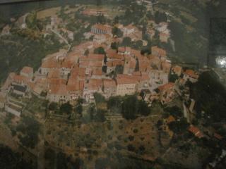 VETULONIA ( vista  dall'alto )