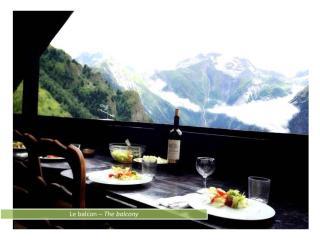 Petit chalet - Balcon panoramique vallée montagne