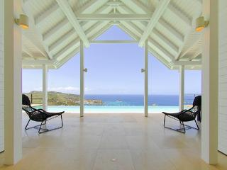 Hillside with one of the most spectacular views St Barts offers WV VUE, Colombier