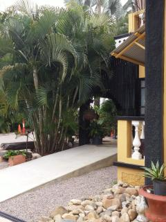 Enjoy the comfort of the historical home in the natural cool environment of the tropics