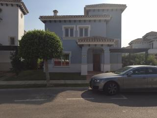 Luxury villa on Mar Menor Golf resort with private pool.