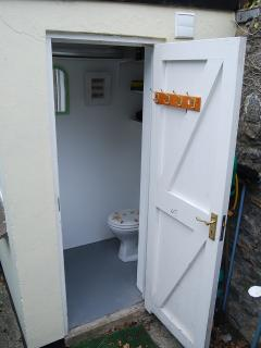 Outside toilet