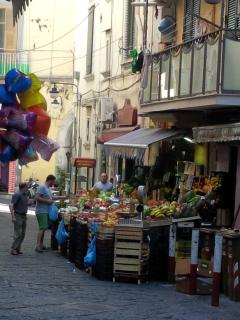 greengrocers in the street