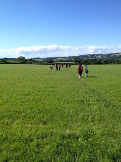 Public footpaths off the farm