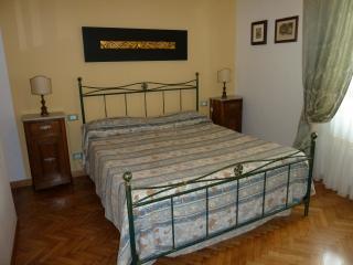 Il letto nella camera padronale