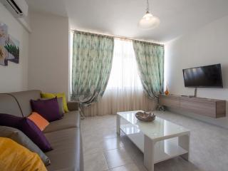 Living Area with LCD TV