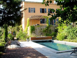 Grasse Côte d'Azur, Superb bastide 8p private pool with nice view