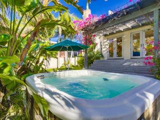 La Jolla Shores Beach Retreat: Large Private Spanish Beach Home, Hot Tub, Rooftop Deck