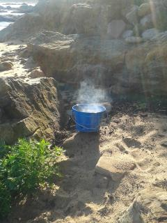 Or barbecue on the beach