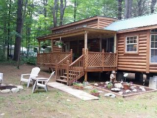 "Park Model ""log"" home in an RV Park near Saratoga"