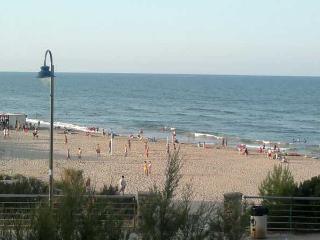 Playa sin aglomeraciones