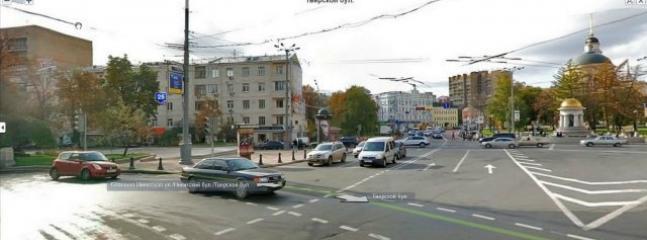 Area Nikitsky Gate.