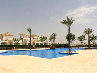 Large airy golf apartment in prime position overlooking pools free wi-fi/aircon