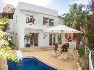 Scandinavian style villa by the beach, Cala Vadella