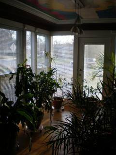 Sun room with seating