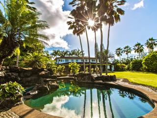Estate WIth Pool, Hot Tub, Ocean & Sunset Views, Princeville
