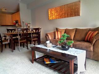 Stylish 2Br Condo  w/ Lot of Amenities & Balcony on Light Rail