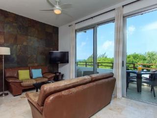 Rentals in Playa del Carmen - Access to the balcony - Casa del Mar PH Cielo
