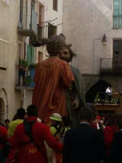 The Giants of Lleida, Spain in Organya (March/April)