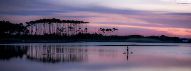 Paddle Boarding on Western Lake